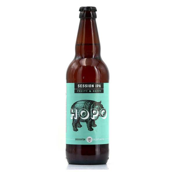Broughton Ales Hopopotamus Session IPA Broughton Ales - Ale Ecossaise (Lowlands) - 3,8% - 4 bouteilles de 50cl