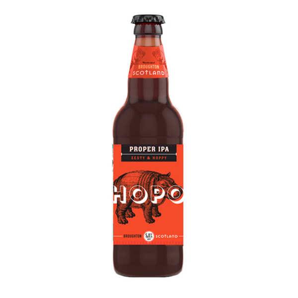 Broughton Ales Hopo Proper IPA Broughton Ales - Ale Ecossaise (Lowlands) - 5% - Bouteille de 50cl