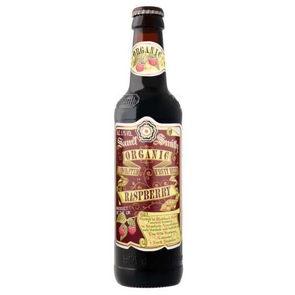 Samuel Smith Brewery Samuel Smith Organic Raspberry - Bière blanche fruitée anglaise bio 5,1% - 6 bouteilles