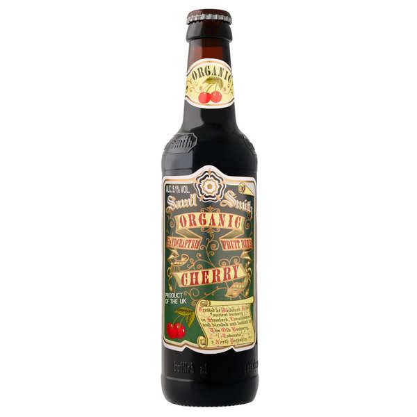 Samuel Smith Brewery Samuel Smith Organic Cherry - Bière ambrée fruitée anglaise bio 5,1% - Bouteille de 35,5cl