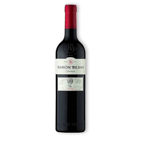 Ramon Bilbao Crianza - Vin rouge espagnol AOC Rioja - 2017 - 6 bouteilles de 75cl