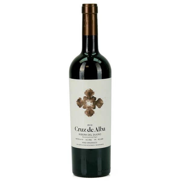 Cruz de Alba Crianza - Vin rouge espagnol biodynamique AOC Ribera del Duero - 2016 - Bouteille de 75cl