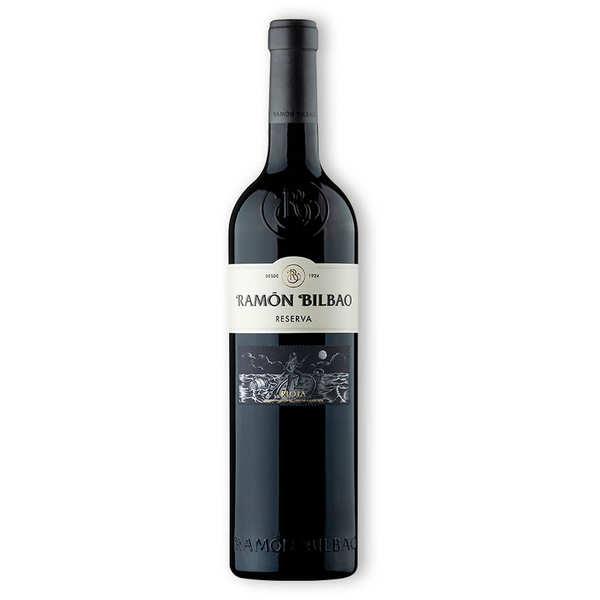 Ramon Bilbao Reserva - Vin rouge espagnol AOP Rioja - 2015 - 6 bouteilles de 75cl