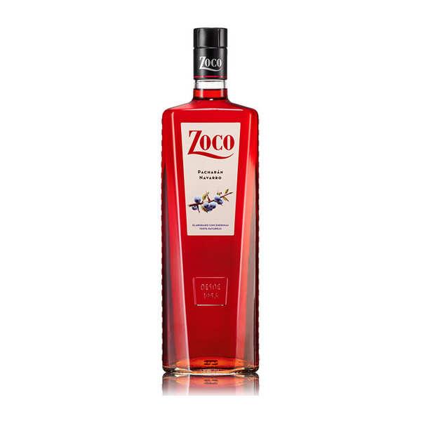 Zoco Pacharan - Liqueur espagnole aux fruits anisée 25% - Bouteille de 1L