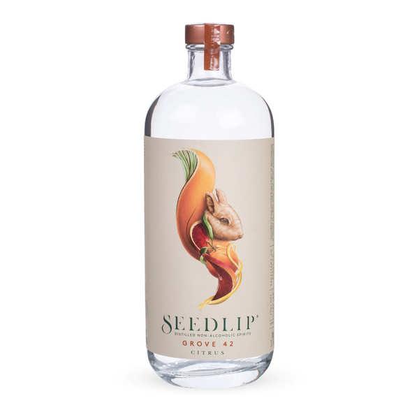 Seedlip Grove 42 - Spiritueux aux agrumes sans alcool - Bouteille de 70cl