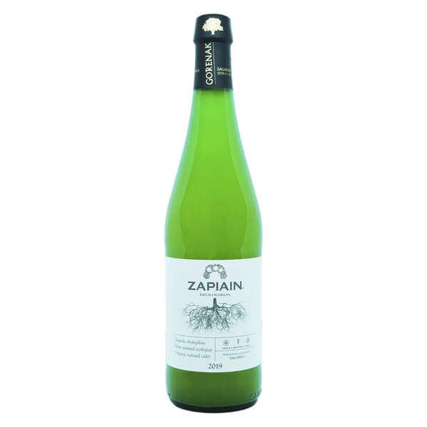 Zapiain Cidre basque premium bio - Zapiain - Bouteille de 75cl