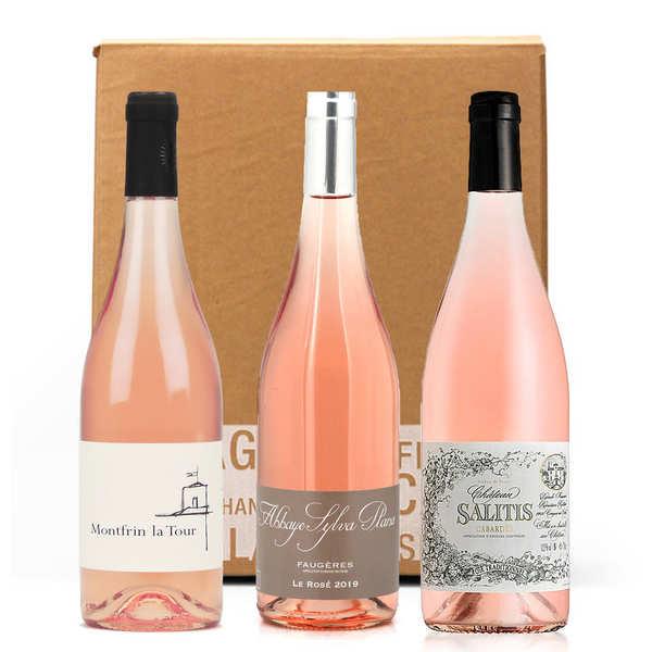 BienManger.com Box 3 vins rosés du Languedoc - Lot de 3 bouteilles 75cl