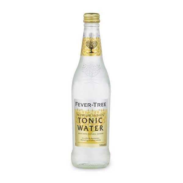 Fever Tree Premium Indian Tonic Water - Lot 8 bouteilles de 50cl