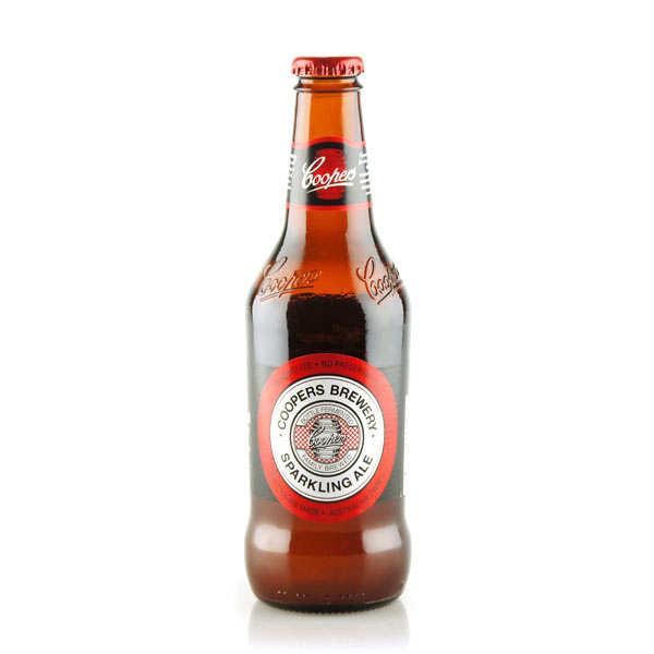 Coopers Brewery Ltd. Cooper's Sparkling Ale - Bière Blonde Australienne - 5,8% - Lot 24 bouteilles 37,5cl