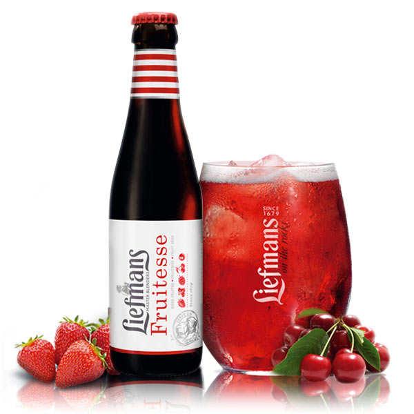 Brasserie Liefmans Bière Liefmans Fruitesse aux fruits rouges - Lot 24 bouteilles 25cl