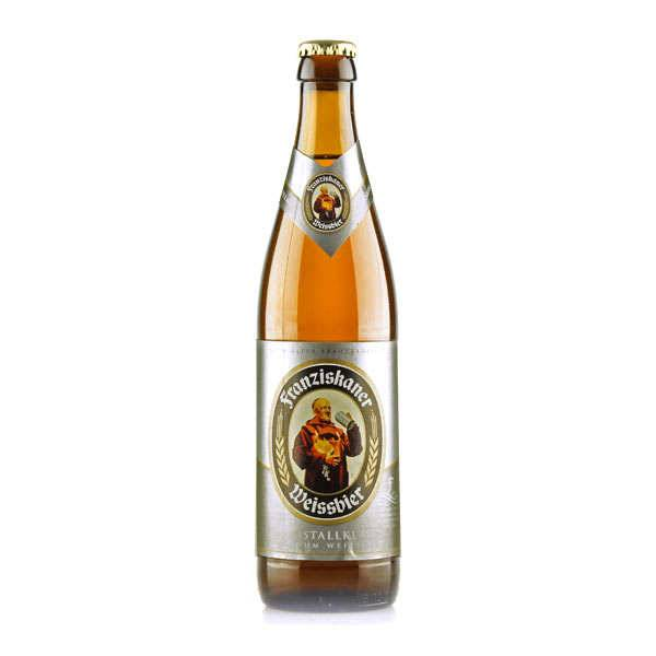 Brasserie Spaten-Franziskaner Franziskaner Weissbier Kristallklar - Bière blonde allemande - 5% - Lot 6 bouteilles 50cl