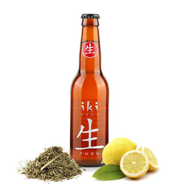 Brasserie iKibeer Iki Beer - Bière bio au thé vert et yuzu 4,5% - Bouteille 33cl