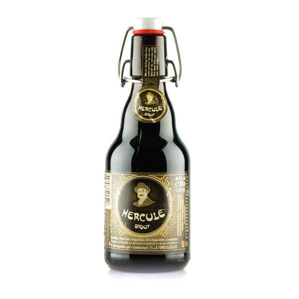 Brasserie Ellezelloise Hercule Stout - Bière belge 9% - Lot 6 bouteilles 33cl