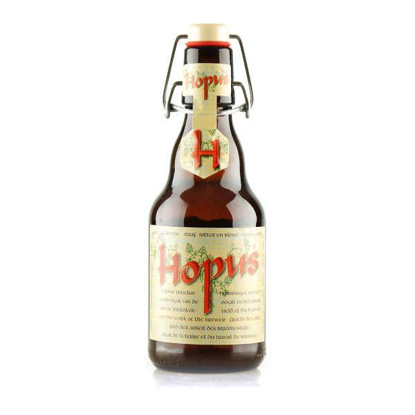 Brasserie Lefebvre Hopus - Bière Blonde Belge - 8,3% - Lot 6 bouteilles 33cl