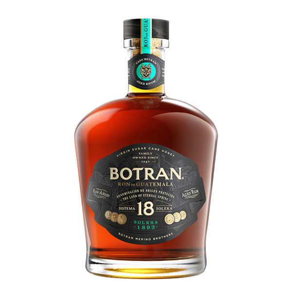 Botran 18 ans - Gran Reserva Solera - Rhum du Guatemala - 40% - Bouteille 70cl et son étui