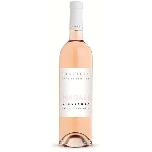 Figuière - Famille Combard Figuière Cuvée Magali - Côtes de Provence vin rosé - 2020 - 6 bouteilles 75cl