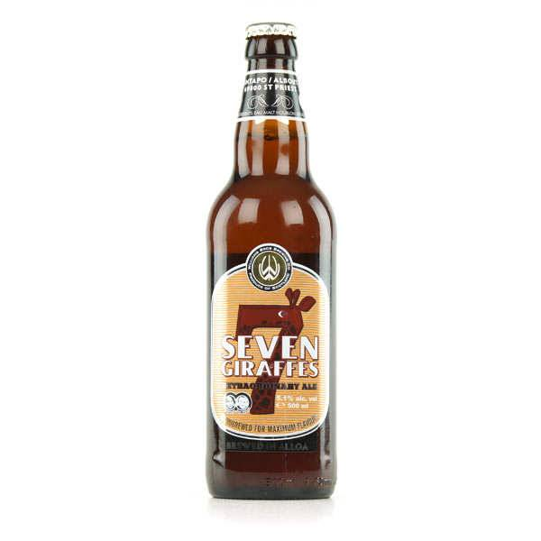 Williams Bros Brewing 7 Giraffes - Bière Ale Ecossaise - 5,1% - Bouteille 50cl