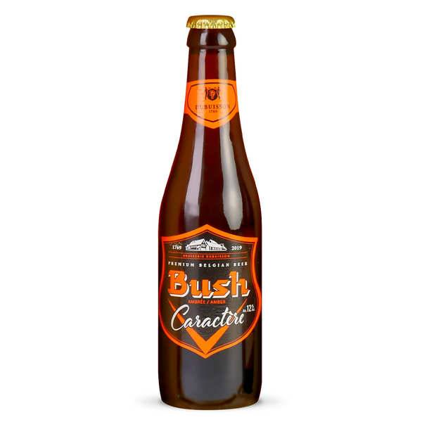 Brasserie Dubuisson Bush Caractère - Bière Belge Ambrée - 12% - Le lot de 24x33cl