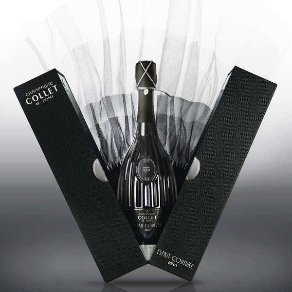 Champagne Collet - Cuvée Esprit Couture - Bouteille 75cl et son étui
