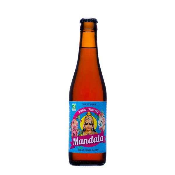 Brasserie d'Olt Bière Mandala IPA Brasserie d'Olt Bio 6.2% - Lot 24 bouteilles 33cl
