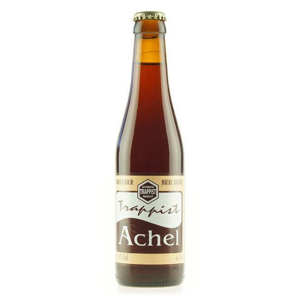 Monastère d'Achel Achel brune - Bière Trappiste de Belgique - 8% - Bouteille 33cl