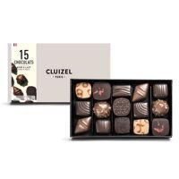 Michel Cluizel Coffret 15 chocolats noirs et laits Michel Cluizel - 3 coffrets de 165g <br /><b>53.25 EUR</b> BienManger.com