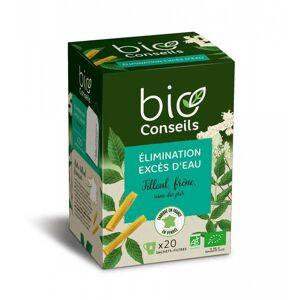 Bio Conseils Infusion excès d'eau élimination Bio - Boîte 20 sachets - Publicité
