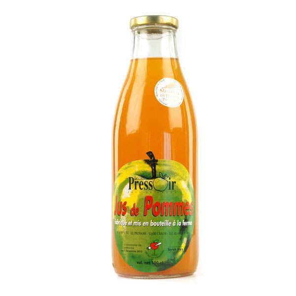 Ferme du Pressoir Jus de pomme fermier - Lot 3 bouteilles de 1L