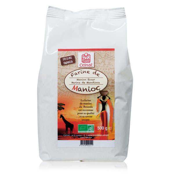 Celnat Farine de manioc bio - Lot 3 sachets de 500g