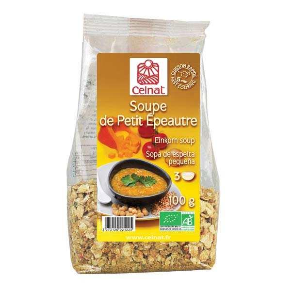 Celnat Soupe déshydratée de petit épeautre Bio - Sachet 100g