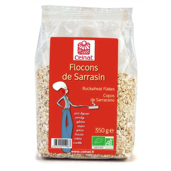 Celnat Flocons de sarrasin Bio - Lot 3 sachets de 350g
