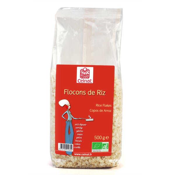 Celnat Flocons de riz Bio - Lot 3 sachets de 500g