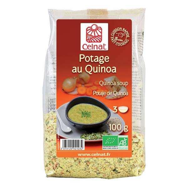 Celnat Soupe déshydratée au quinoa bio - Sachet 100g