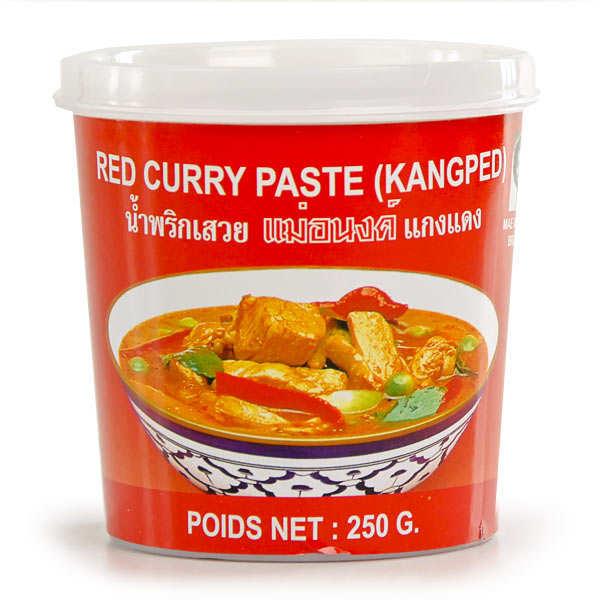 Mae Anong Pâte de curry rouge thaïe - Pot 250g