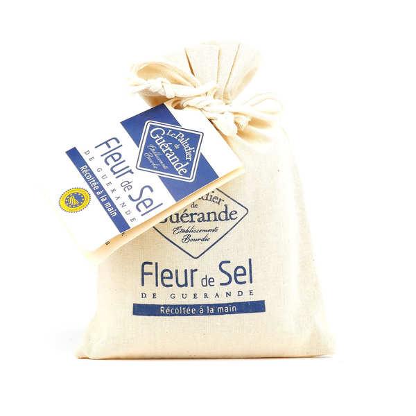 Le Paludier Fleur de sel de Guérande - Sachet toile de jute 250g