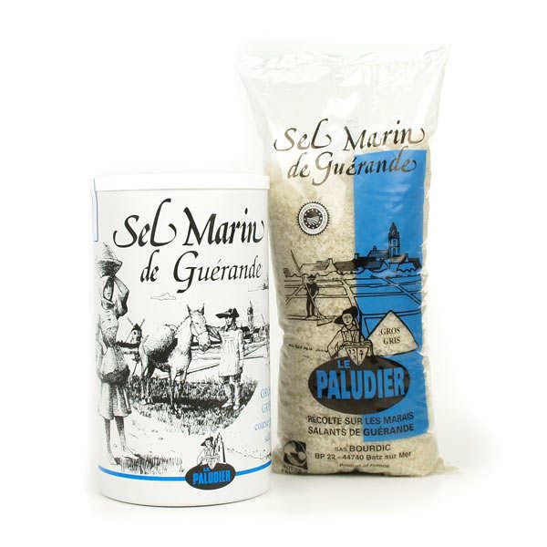 Le Paludier Gros sel de Guérande - Sachet transparent 1kg