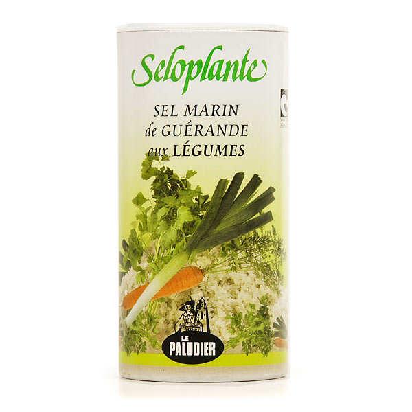 Le Paludier Séloplante - sel de Guérande aux légumes - la boîte verseuse de 250g