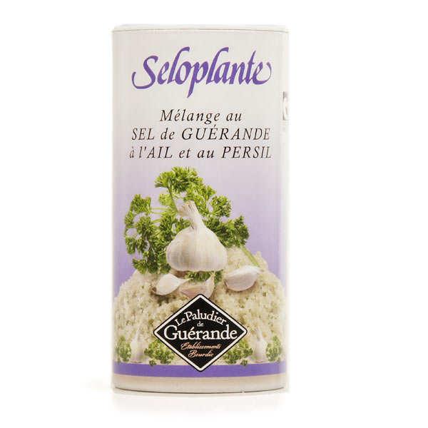 Le Paludier Séloplante - sel de Guérande à l'ail et au persil - la boîte verseuse de 250g