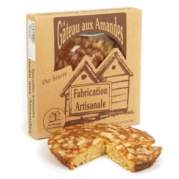 La Passion des Abeilles Gâteau aux amandes pur beurre - Gâteau 220g