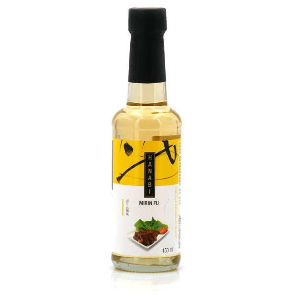 Hanabi Sauce Mirin Fu - Vin doux de riz pour cuisson - Bouteille verre 150ml