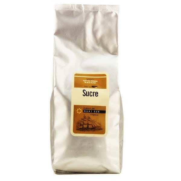 Quai Sud Sucre roux de canne Muscovado de l'Ile Maurice - Sachet 1kg