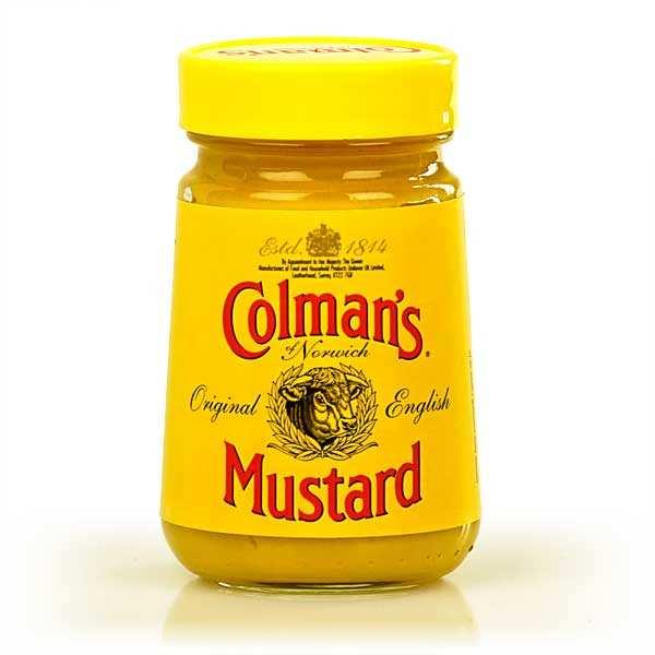 Colman's Moutarde Colman's en pot - Lot de 6 pots de 100g