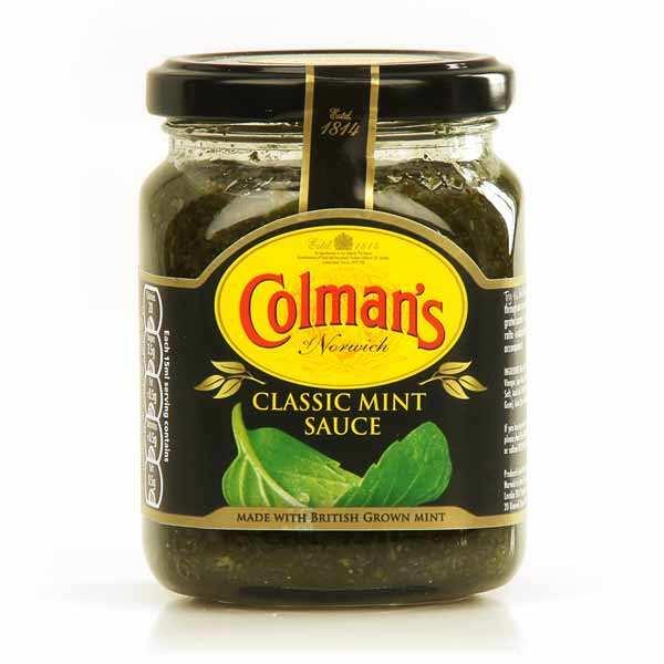 Colman's Classic mint sauce - Sauce à la menthe anglaise - 4 pots de 165ml