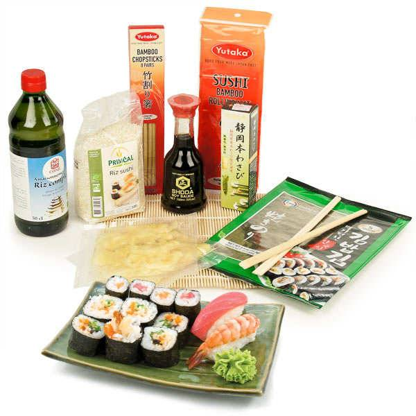 BienManger.com Kit atelier sushi - kit sushi