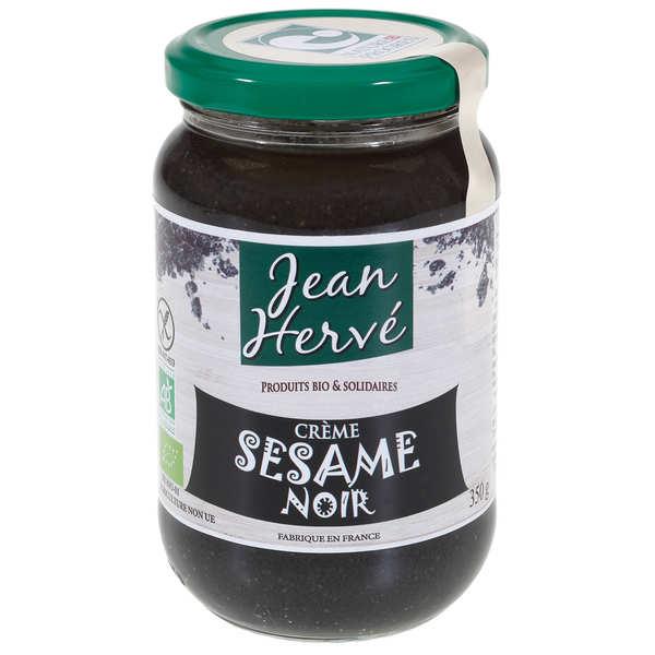 Jean Hervé Crème au sésame noir bio - Pot 350g