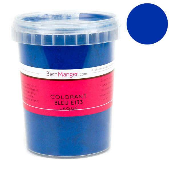 BienManger aromes&colorants Colorant alimentaire bleu E133 - Poudre liposoluble - Pot 100g