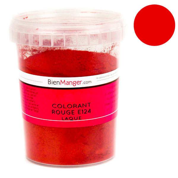 BienManger aromes&colorants Colorant alimentaire rouge E124 - Poudre liposoluble - Pot 100g