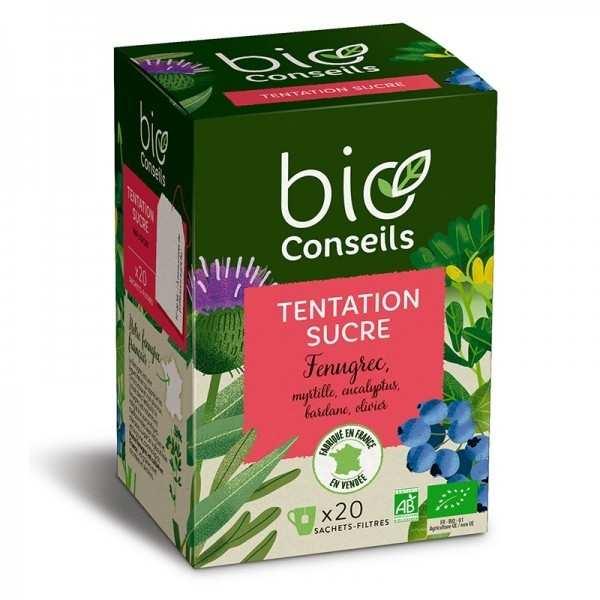 Bio Conseils Infusion tentation sucre Bio - Boîte 20 sachets