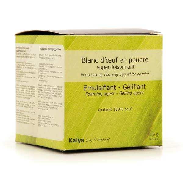 Kalys Gastronomie Blancs d'oeuf foisonnants en poudre - Pot 125g - 2 sachets