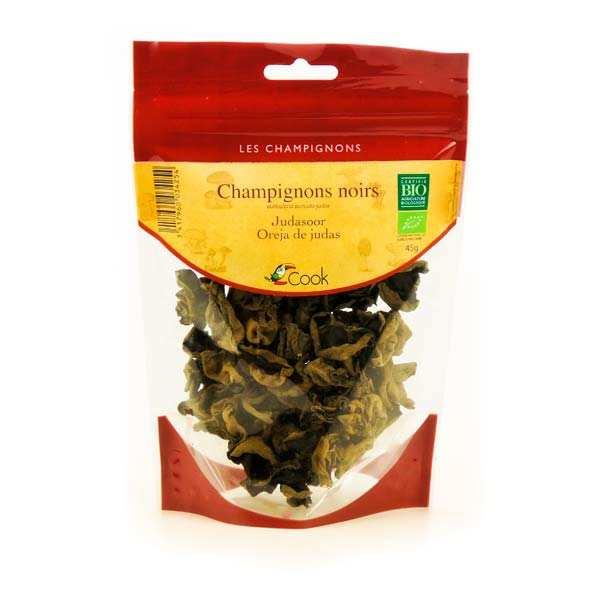 Cook - Herbier de France Champignons noirs déshydratés bio - 3 sachets de 45g